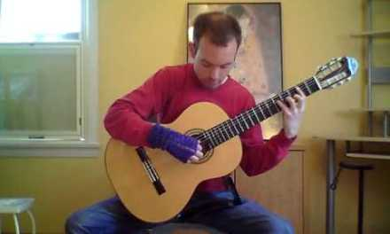 Classical guitar lessons at home
