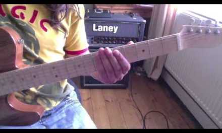 using the super locrian / altered scale including example improvisations for Guitar lesson