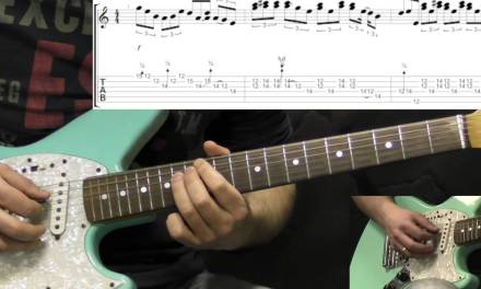 SRV – Mary Had A Little Lamb – Solo – Blues Guitar Lesson (w/Tabs)