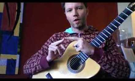 classical guitar lesson: CAGED system scales