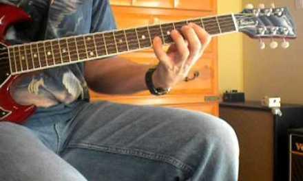 Lou Gramm Midnight Blue Guitar Lesson – Album Correct