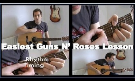 Guitar Lessons – Guns N' Roses – Sweet Child O' Mine – Acoustic Guitar Lesson