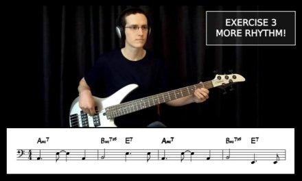 "Building Bossa Basslines #1: ""Black Orpheus"" – Bass Guitar Lesson"