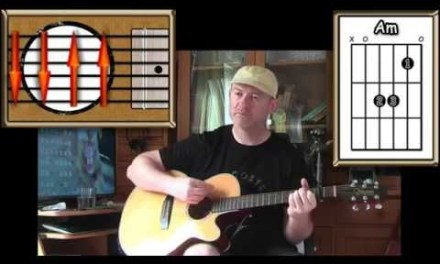 It Never Rains In Southern California – Albert Hammond – Acoustic Guitar Lesson (easy)