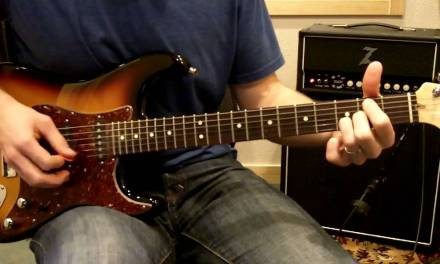 You Hold Me Now (Hillsong) – Electric Guitar Lesson