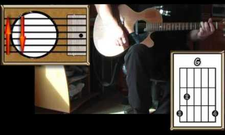 Yellow Submarine – The Beatles – Acoustic guitar Lesson (easy)