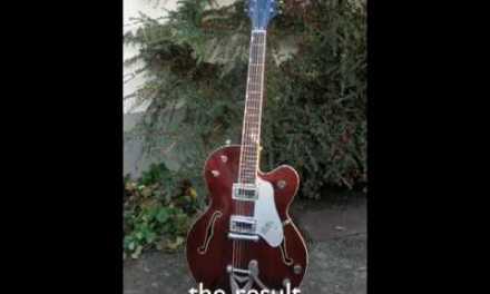 Gretsch guitar repair
