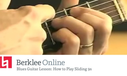 Blues Guitar Lesson – How to Play Sliding 9s