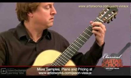 Classical Guitar Lessons: Sor – D Major Etude #6