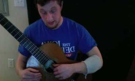 Classical Guitar Lesson:  Setting up the Right Hand Position