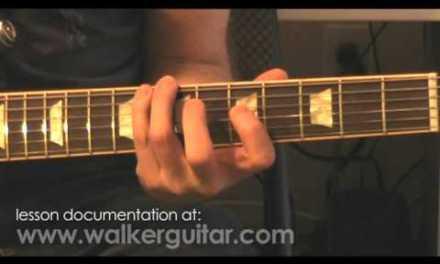 C Major (Ionian) Scale (guitar lesson)
