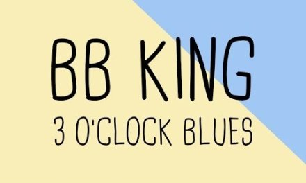 How to play the lick 3 O'clock Blues BB King | Guitar Lesson & Tabs