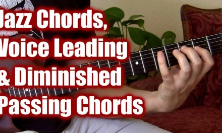 Jazz Guitar Lesson: Important Passing Chords, Voice Leading | Free Guitar Lessons Pro