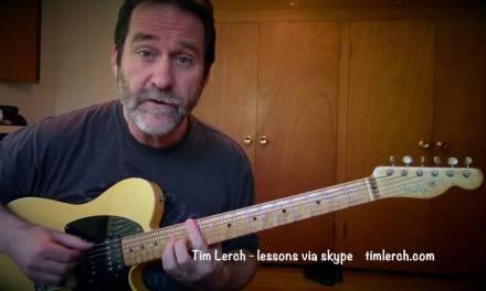 Tim Lerch – Improvising Solo Guitar – Lesson