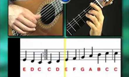 Ex038 How to Play Guitar – Classical Guitar Lessons for Beginners