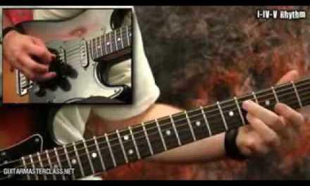 Easy Blues Licks Guitar Lesson Full