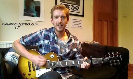 Hound Dog Guitar lesson EASY CHORDS –  ELVIS