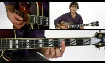 1-2-3 Jazz Chord Melody – #2 Major Chords – Guitar Lesson – Frank Vignola