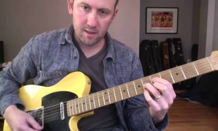 Jump Blues Guitar Lesson – Horn-based Rhythm Ideas