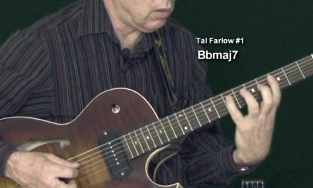 Tune Up Solo1   Jazz Guitar Lesson