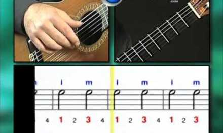 Ex002 How to Play Guitar – Classical Guitar Lessons for Beginners