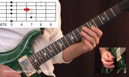 "02 Learn Electric Guitar ""How To Read Scale Diagrams"" – Rock Guitar Lesson"