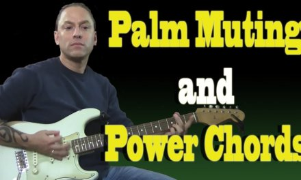 Palm Muting and Power Chords (Guitar Lesson)