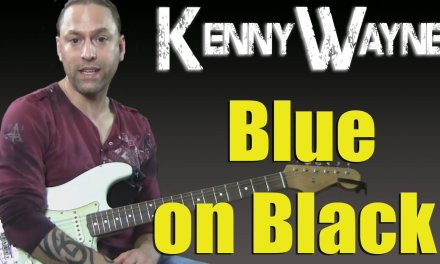 "Learn to Play ""Blue on Black"" by Kenny Wayne Shepherd (Strumming Guitar Lesson)"