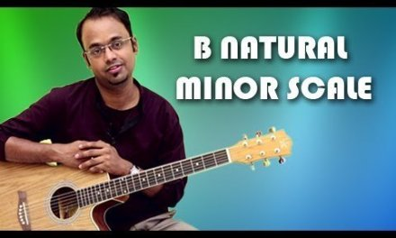 How To Play – B Natural Minor Scale – Guitar Lesson For Beginners
