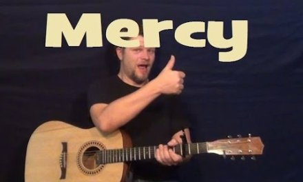 Mercy (Duffy) Easy Strum Chords Guitar Lesson How to Play Mercy Tutorial