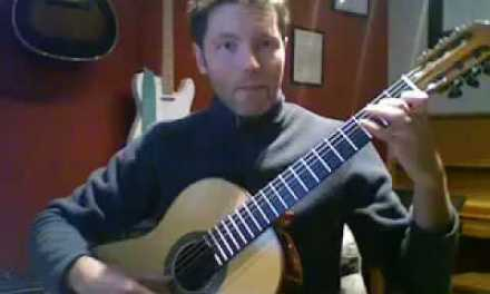 classical guitar lessons dec 5 2008 polyrhythmic arpeggio study.mov