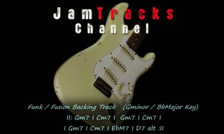 Funk Fusion Guitar Backing Track – JamTrackChannel –