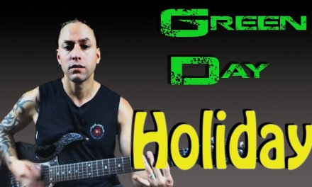 """Learn to Play """"Holiday"""" by Green Day (Guitar Lesson)"""