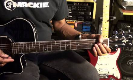 The Doors RIDERS ON THE STORM Easy Acoustic Guitar Lesson EricBlackmonMusicHD