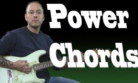 Power Chords (Guitar Lesson)