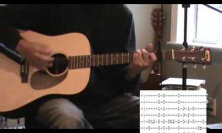 Man Of Constant Sorrow Acoustic Guitar Lesson – Tab – Normal Tuning