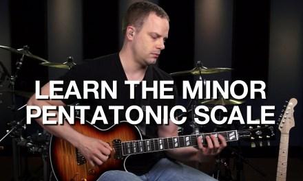The Minor Pentatonic Guitar Scale – Lead Guitar Lesson #5