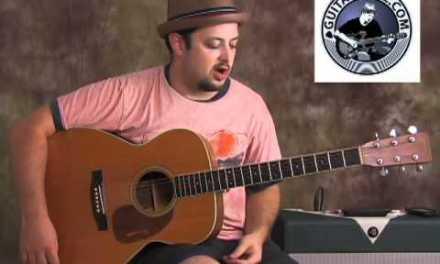 Blues guitar lesson – blues scale
