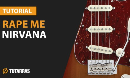 How to play RAPE ME by Nirvana – Electric Guitar GUITAR LESSON