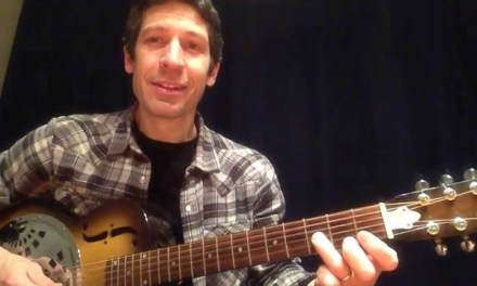 One-Minute Guitar Lesson With TAB: The E Blues Scale