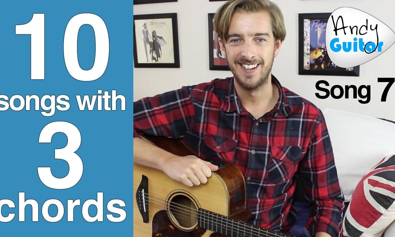 Sweet Caroline Guitar Lesson Neil Diamond Easy 3 Chord Song