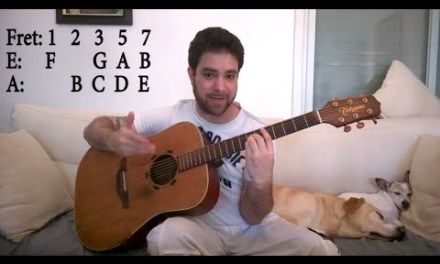 How to Memorize,  Find & Practice Barre Chords – The Ultimate Guitar Lesson