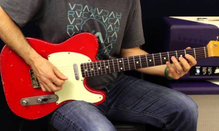 Electric Guitar Lesson – Open String Runs – How To Solo – Country Licks – Chicken Picking