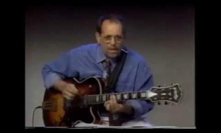 Jazz guitar lesson by (Joe Beck) Part 1