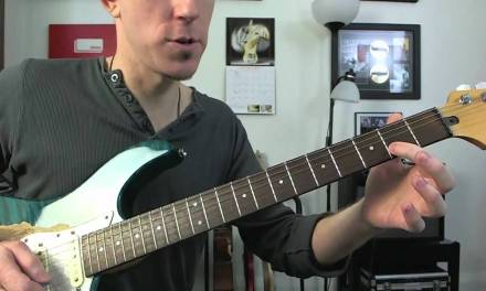 One String Major Scale – Easy Beginners Guitar Lesson