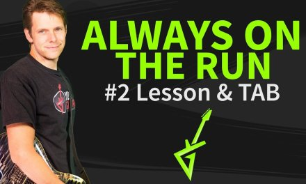 How to play Always On The Run Guitar Lesson #2
