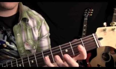 Beginner Guitar Lesson – C Major Scale