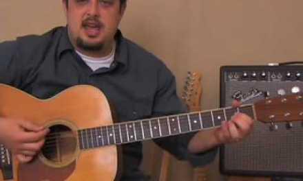 Johnny Cash –  Inspired – Easy  Beginner Song Acoustic Guitar Lesson