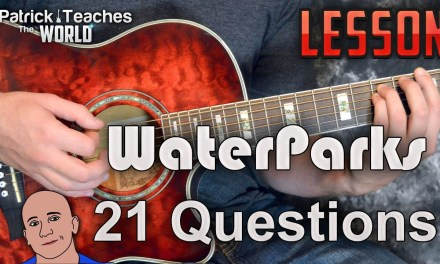 WaterParks-21 Questions-Guitar Lesson-Tutorial-How to Play-Chords