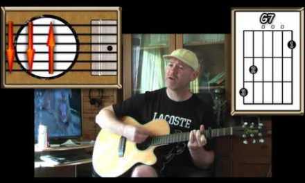 Blue Moon – Bobby Vinton, Sinatra & Elvis etc. – Acoustic Guitar Lesson